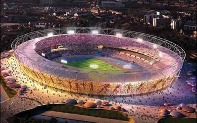 Ed Gamester Gold Challenge London 2012 Stadium
