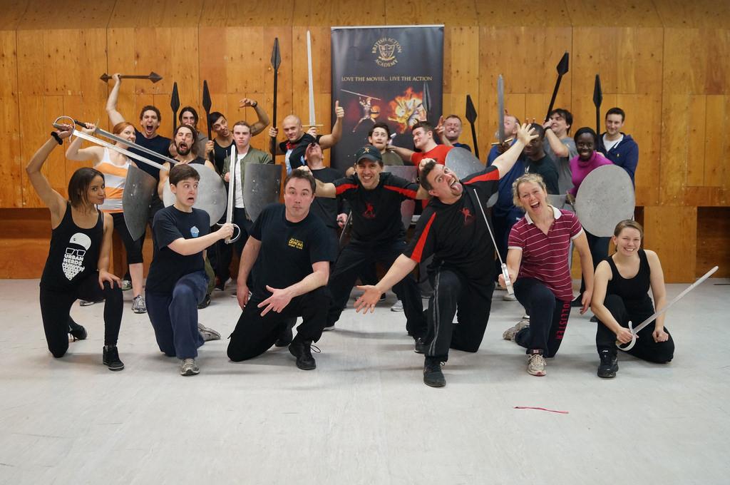 British Action Academy Warrior Masterclass