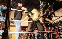 Los Nordicos Lucha Libre © 2014 AbsolutQueer Photography